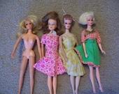 Vintage doll lot barbie tnt