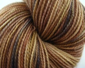 WOOD - Hand Painted Superwash Merino Wool Sock Yarn Benjamin