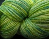 NEW LEAF - Hand Painted Merino\/Silk Sock Yarn - Suzannah