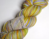 Superwash Sock Yarn in Sea Anenomie