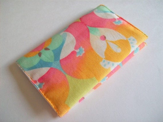 Swanky Fabric Business Card Holder