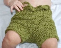 Crochet Pattern for Honeysuckle Cloth Diaper Cover Soakers