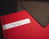 Fortune Cookie Red Greeting Card