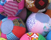Wholesale Lot of 12 Fabric Balls