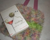 Felted Fuzzy Sea Anemone Purse - SALE