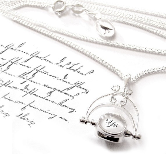 The Decision Maker - Mark 2 - SOLID SILVER heirloom NECKLACE