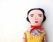 Tattooed Lady doll