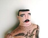 Patriotic Tattooed man