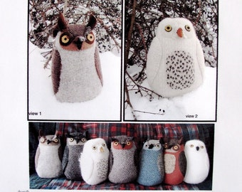 Owl pdf Pattern Tutorial Night Friend