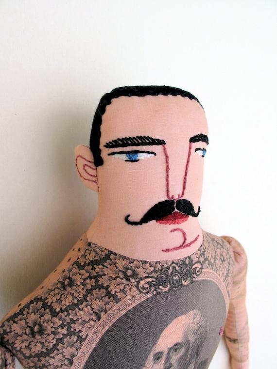 Fancy Pants Tattooed man