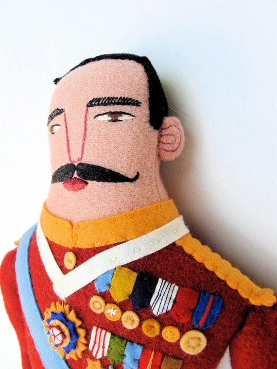 General with Medals doll