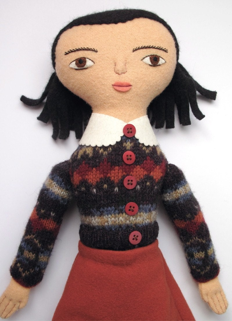 School Girl Doll