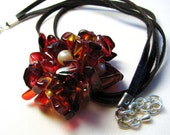 Necklace - Bouquet Red
