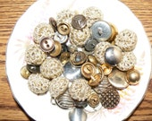 Midas Touch Mixed Vintage Button Lot