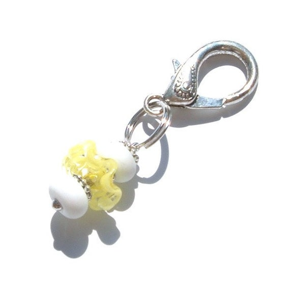 Lemon Meringue Purse Charm