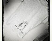 SALE - Owlie - Women's Burnout t-shirt - Sizes S, M, L