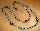 Turquiose Baroque Rosary
