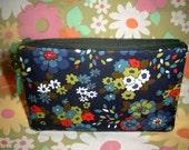 Vintage\/Retro Original 1960s Fabric Clutch\/Purse\/Wallet