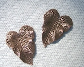 Leaf In Copper Largest Size Six Pieces