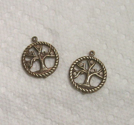 Tree Of Life Solid Brass 2 Pieces