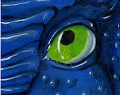 Eye of Dragon Orginal Acrylic Painting 10x10