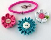 Private Listing for Cillaw - Custom Tsumami Kanzashi Flower Snaps Set