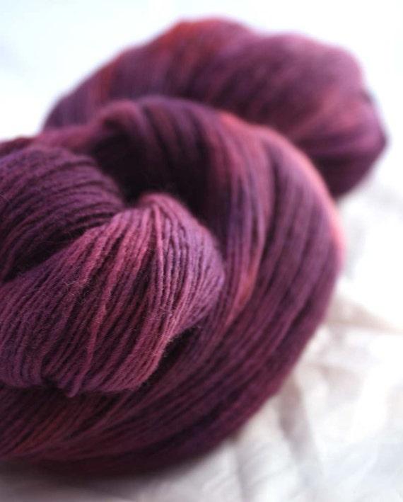 BABY GRAPE--South American Merino Lace-Free Shipping