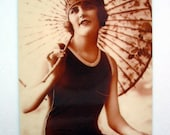 Gloria - vintage photo magnet