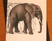 Elephant Card - For RomyBrett