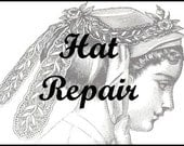 Hat/Fascinator Repair