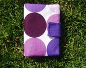 Dotty Purple Wallet With Pockets