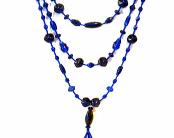 Blue Danube Necklace by Diana