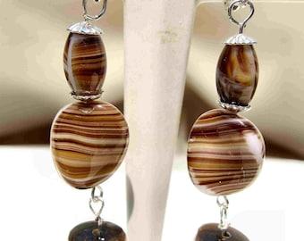 Earthly Balance Earrings by Diana