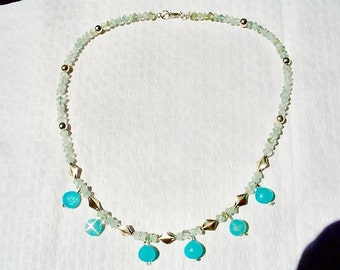Aqua Splendor Necklace by Diana