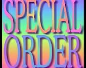RESERVED IIIIIIIIII SPECIAL ORDER  2 Word Bracelets