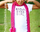 Brown Eyed Girl Boutique Tee White 10\/12 FREE SHIPPING IN U.S.A.