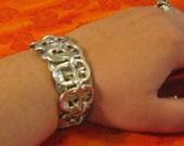 Industrial chic Pop Tab Bracelet