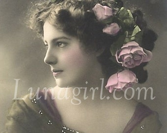1000 LADIES VINTAGE PHOTOS, vol2, vintage images Victorian Edwardian 1920s women, Photos Postcards, showgirls flappers, altered art ephemera
