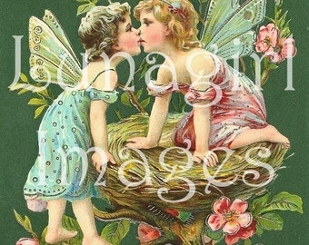 700 Victorian FAIRIES ANGELS Fairy Tale Art, vintage images, digital ephemera, fantasy illustration nursery rhymes mermaids elves, DOWNLOAD