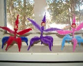 Chenille fantasy creature dolls -- Reserved for button4853