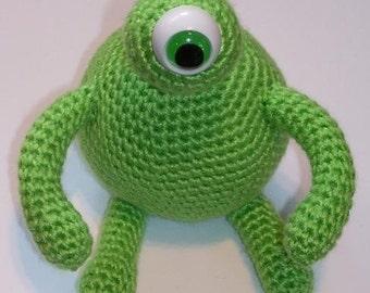 Amigurumi Alien Crochet Pattern - PDF Format