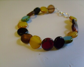 polished stone Serenity bracelet