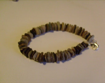 SALE mother of pearl shell bracelet