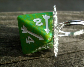 Role Playing RPG Royal Green Die RIng