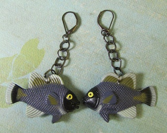 fishy fish earrings
