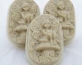 RESERVED LISTING FOR LITTLEBEARCLAYWORKS 3 Oatemal and Honey Fairy Soaps