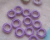 Crocheted Rings Reserved for Joy4Jewelry