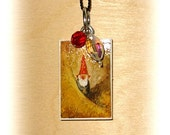 Pendant gnome - a shy and lonely one