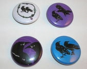 crow mini-buttons -buy any 4