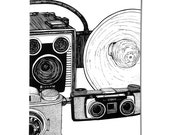 Vintage Cameras - Hand Made Zine - Artwork By Karl Addison